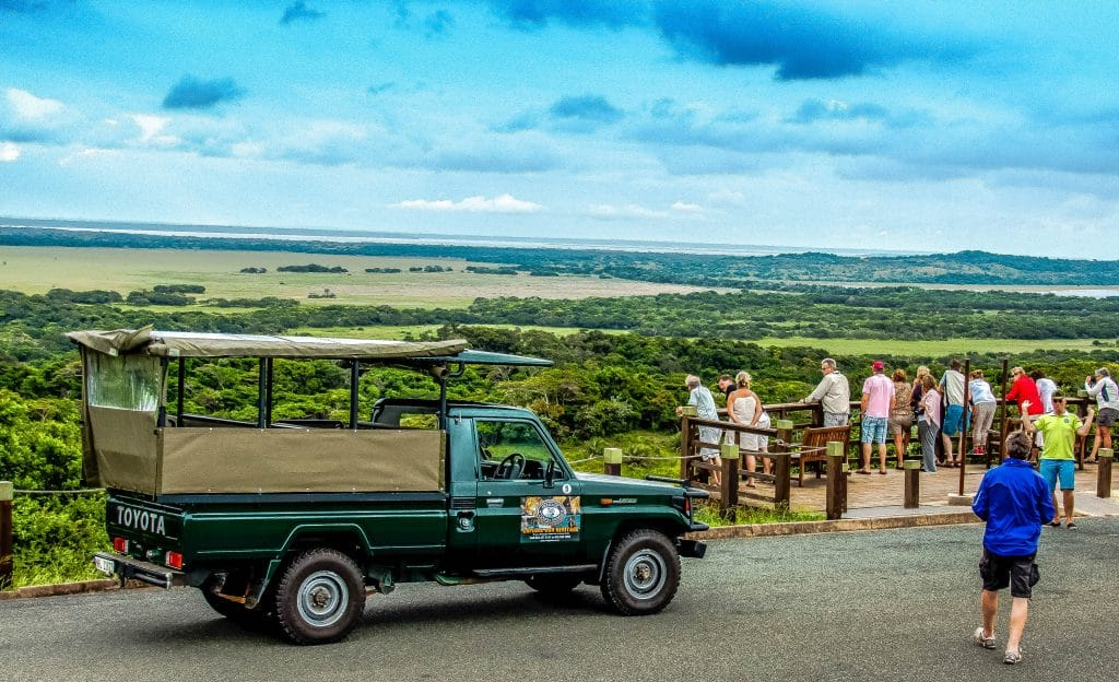 clients on safari package south africa