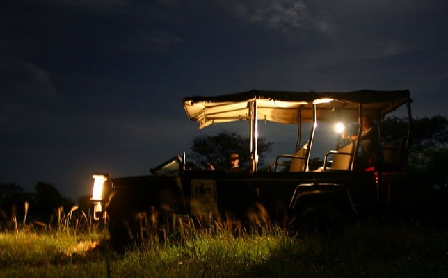 night safari isimangaliso wet land park