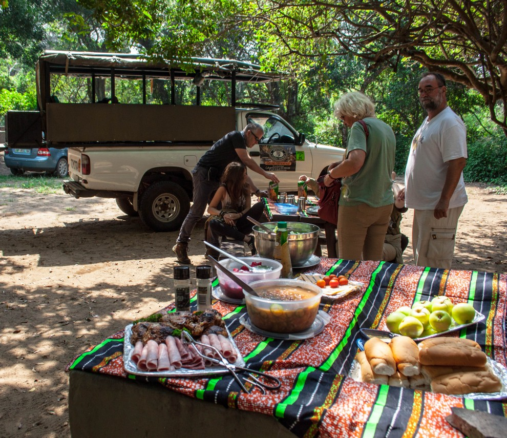 cape vidal south africa picnic