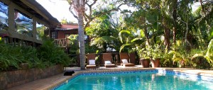 swimming-pool-at-Umlilo-Lodge-in-Saint-Lucia-South-Africa