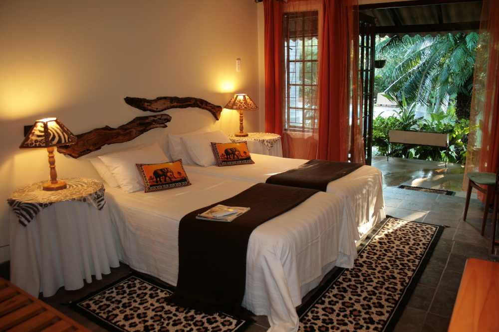 maputuland guesthouse room st lucia south africa