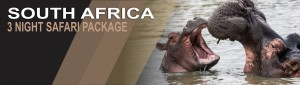 3 Night wildlife Safari Package South Africa
