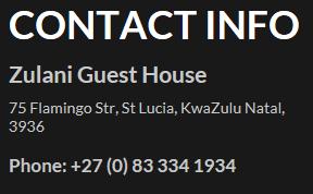 zulani contact details