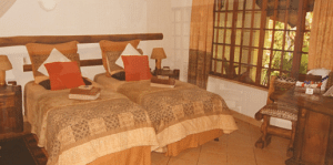 african ambiance bed & breakfast room 1