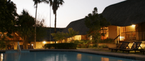 amazulu bed & breakfast pool area