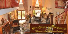 annas bed & breakfast dinning area