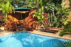bhangazi bed & breakfast swimming area