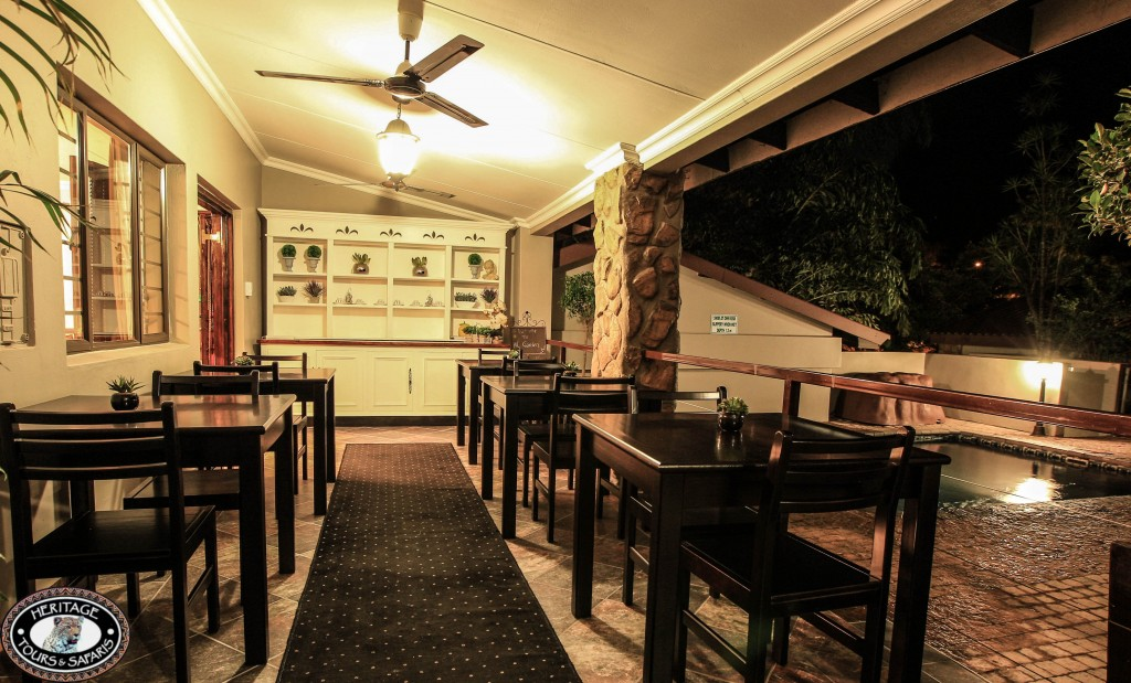 Heritage House St Lucia dinning area
