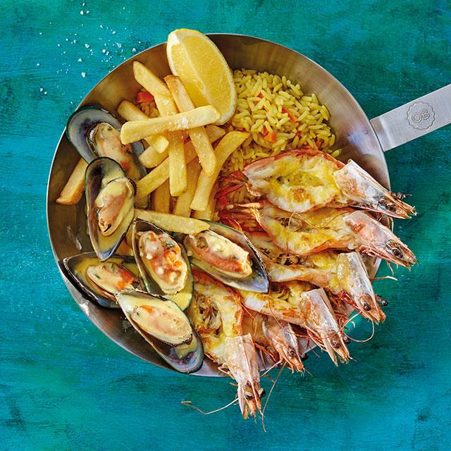 st lucia south africa restaurant ocean basket