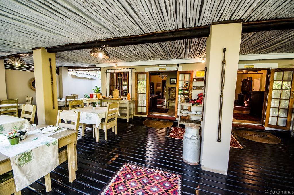 Lidiko Lodge st lucia breakfast area