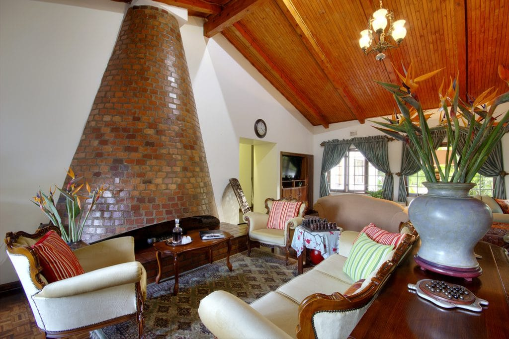 st lucia wetlands guest house lounge area