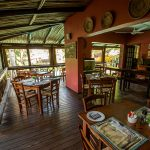 umlilo lodge st lucia eating-area