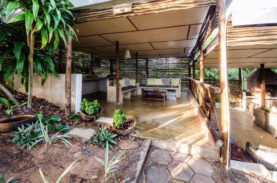 Lidiko Lodge st lucia garden area