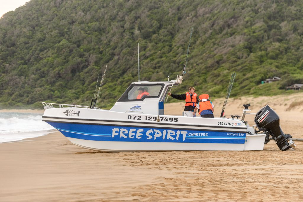 free spirit deep sea fishing st lucia south africa