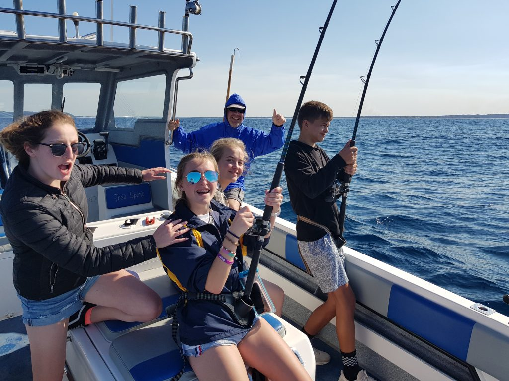 deep sea fishing st lucia clients