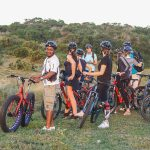 clients and guide bicycle tour st lucia