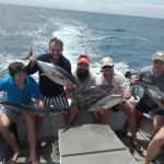 clients fish species caught while out on a fishing charter