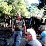 clients participating at veyane village