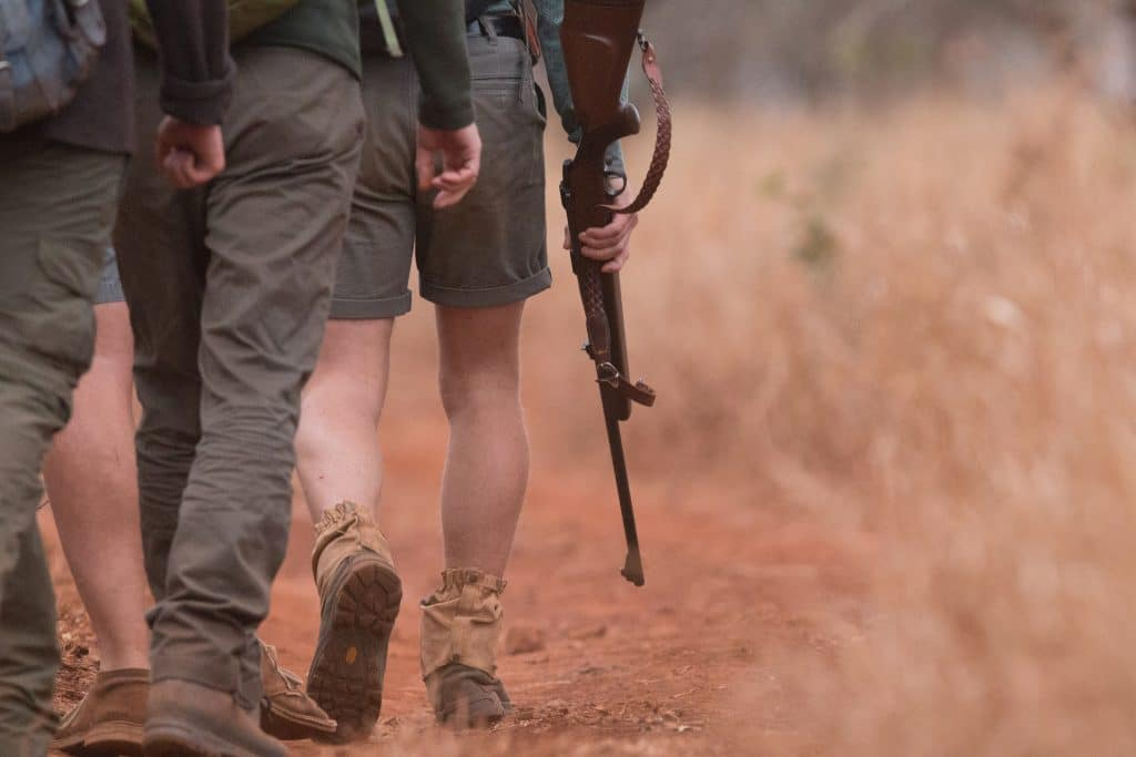 Manyoni Big 5 Guided Walk Safaris