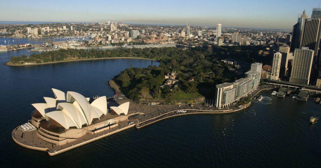 world heritage site sydney opera house